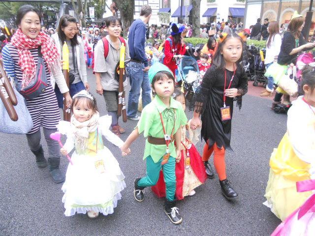 原宿表参道ハローハロウィーンパンプキンパレード2011