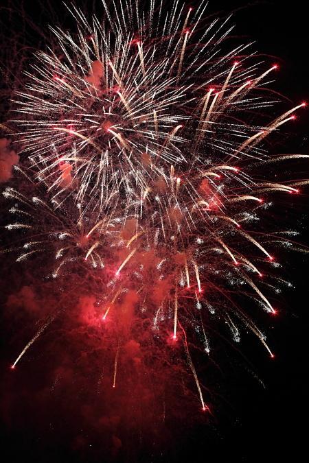 スペインの花火