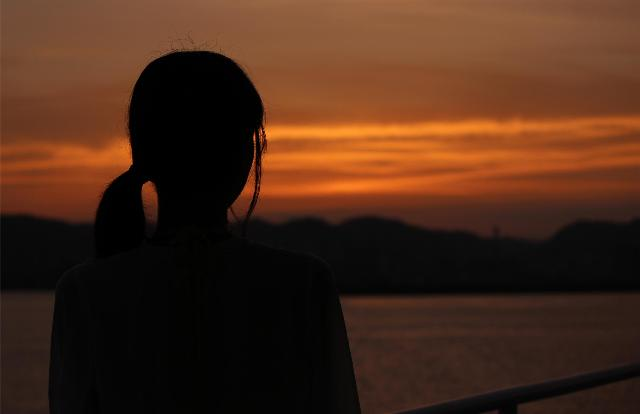 桜島観光納涼船からの夕焼け