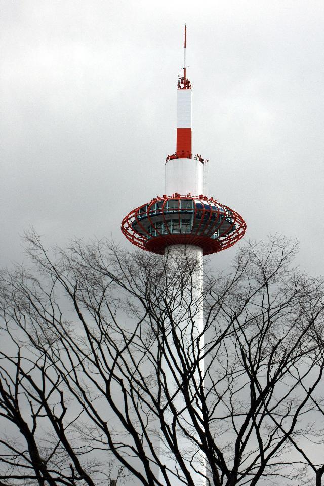 冬 京都タワー