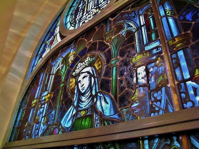 教会のステンドグラス その2