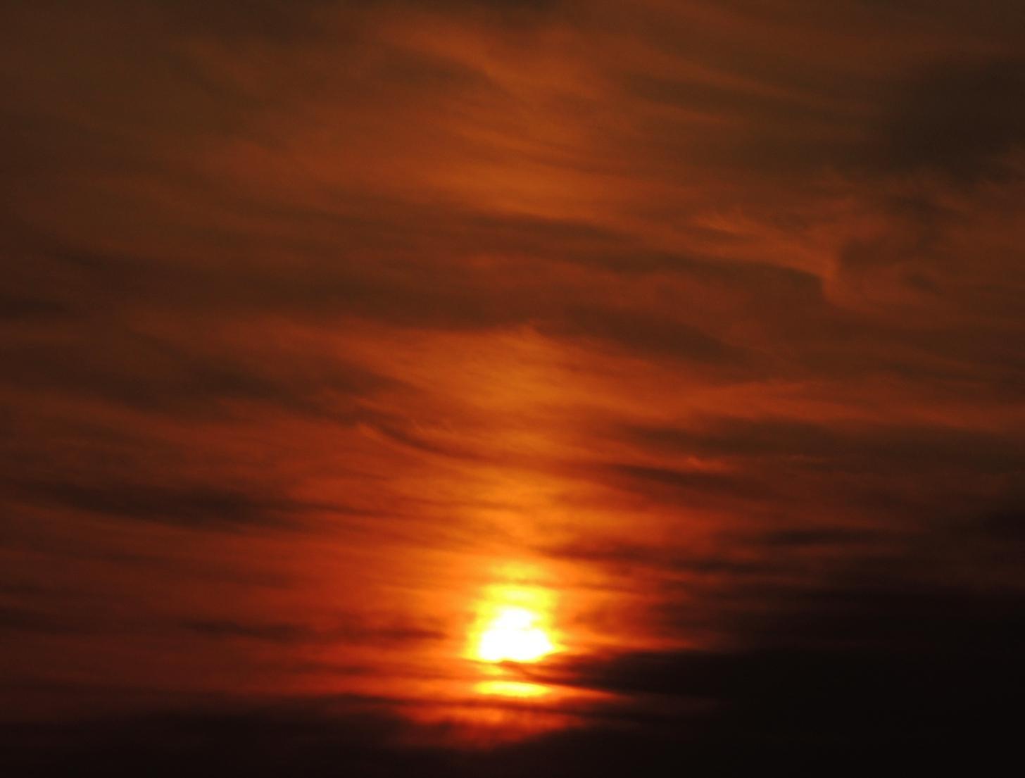 太陽柱(サンピラー)現象