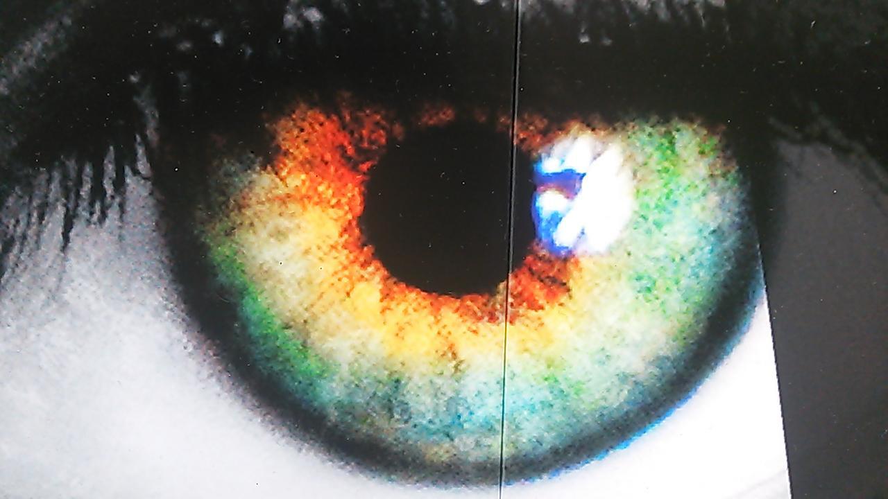 ポスターの目