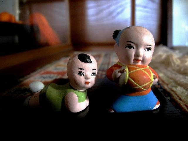 母の集めた人形 1