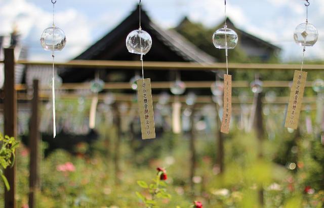 奈良橿原市 おふさ観音風鈴まつり