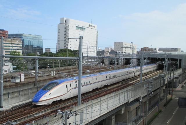北陸新幹線 試運転開始(2)