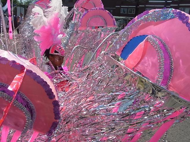 カナダ(トロント)のカリビアンフェスティバル子供パレード