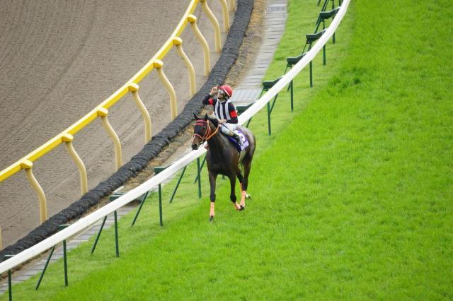 おめでとう!秋山騎手 第17回 NHKマイルカップ優勝 カレンブラックヒル