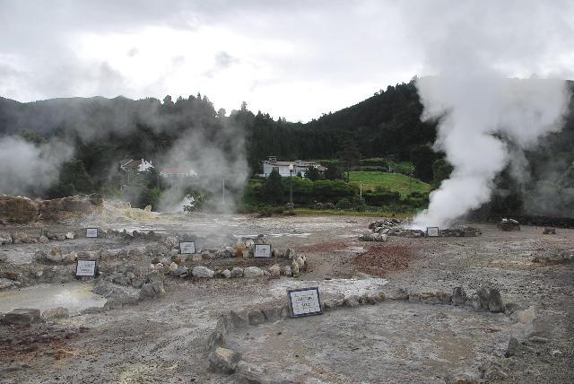 活火山のど真ん中