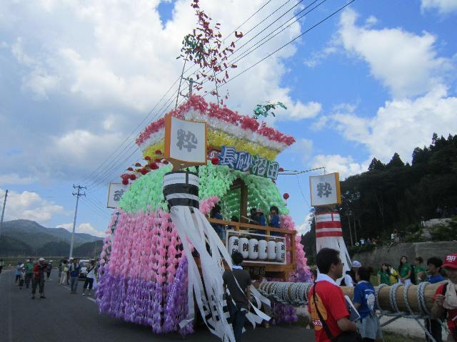 長砂・沼田祭組の山車@陸前高田