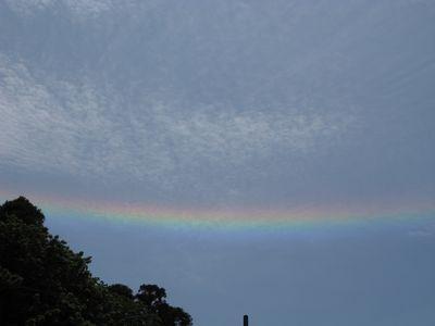 水平の虹(晴天時)撮影地四街道