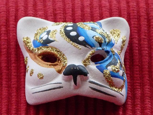 ベネチアの猫仮面