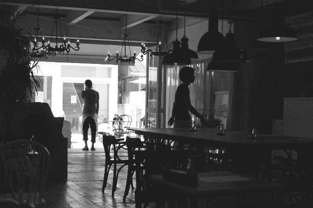 午後のレストラン