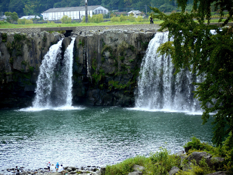 大分県 大野城市 原尻の滝 日本ジオパーク