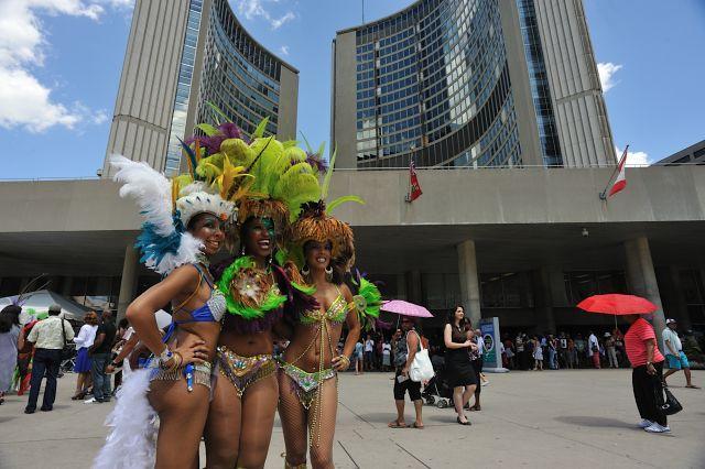 トロント(カナダ)「カリビアンフェスティバル」