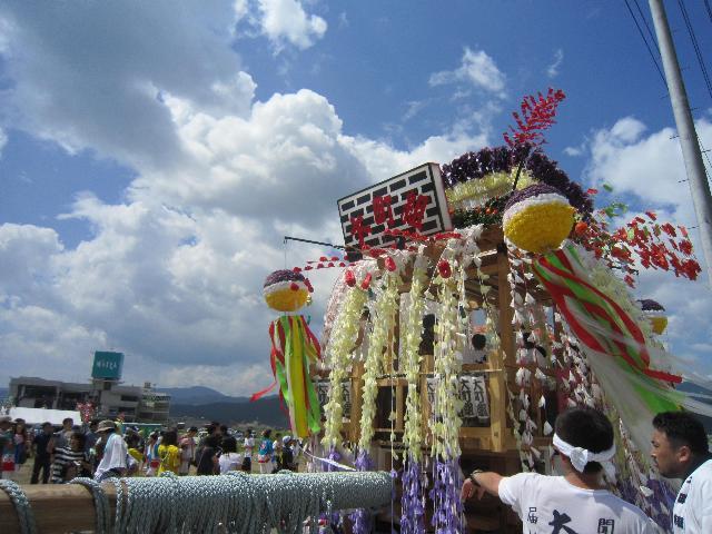 大町祭組の山車@陸前高田