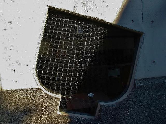 川越の湯呑茶碗型の出窓